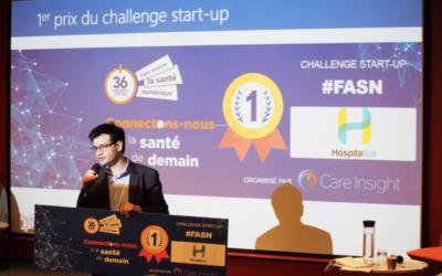 Hospitalink, vainqueur du concours national d'innovation en santé numérique.